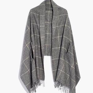 NWT Madewell cape scarf